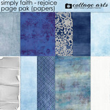 Simply Faith - Rejoice Page Pak