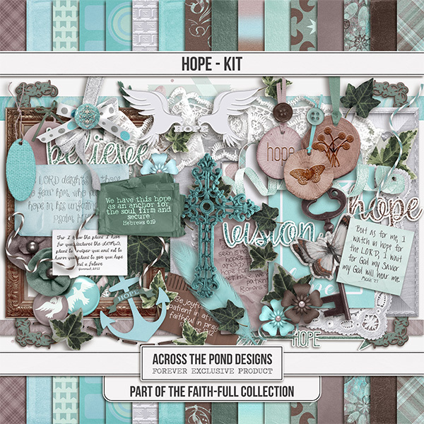 Faithfull - Hope - Page Kit