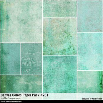 Canvas Colors Paper Pack No. 31