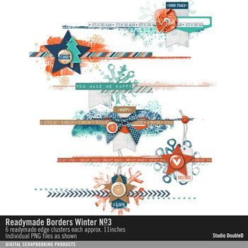 Readymade Borders Winter No. 03