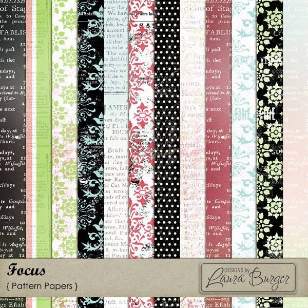 Focus Pattern Papers Exclusive