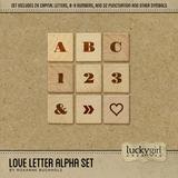 Love Letter Alpha Set