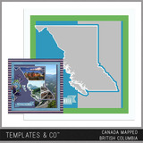 Canada Mapped - British Columbia
