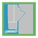 Canada Mapped - Manitoba