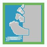 Canada Mapped - North West Territories
