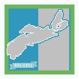 Canada Mapped - Nova Scotia