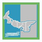 Canada Mapped - Prince Edward Island