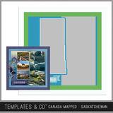 Canada Mapped - Saskatchewan