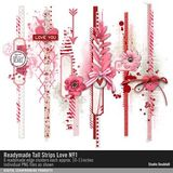 Readymade Tall Strips Love No. 01