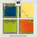 Fresh Life - Decorated Papers