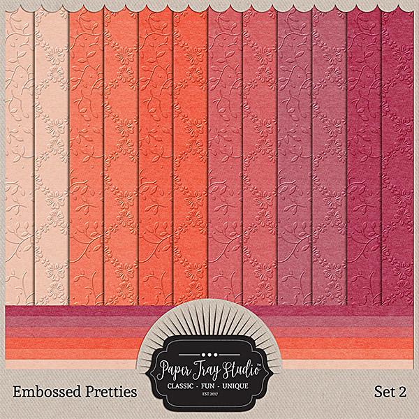 Embossed Pretties - Set 2