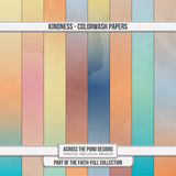 Faithfull - Kindness - Colorwash Papers