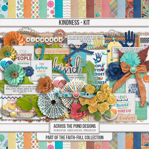 Faithfull - Kindness - Page Kit