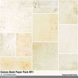Canvas Book Paper Pack No. 01