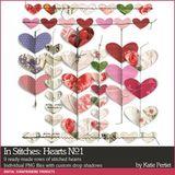 In Stitches Hearts No. 01