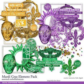 Mardi Gras Element Pack