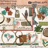 Tattered Love Element Pak