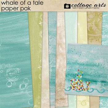 Whale Of A Tale Paper Pak