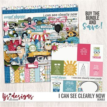 I Can See Clearly Now - Bundle Digital Art - Digital Scrapbooking Kits