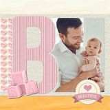 Be My Baby Girl Pre-designed ABC Book