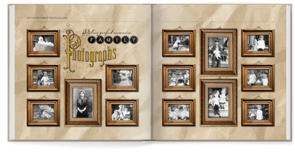 Vintage Family Memories Photo Book