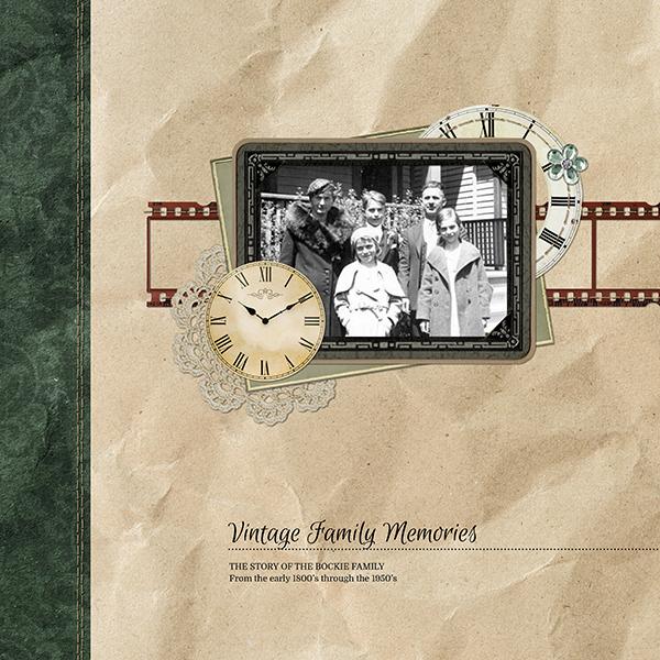 Vintage Family Memories