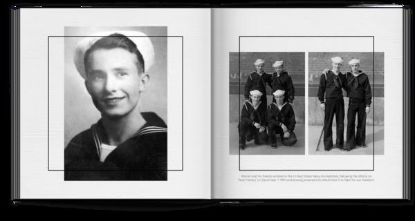 Framed Photo Book