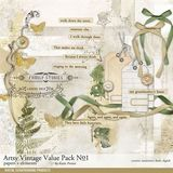 Artsy Vintage Value Pack No. 01