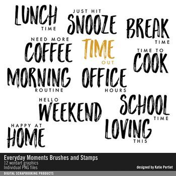 Everyday Moments Brushes And Stamps