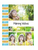 Picture Perfect - Distressed Daisies Pre-designed Book 8.5x11 Portrait