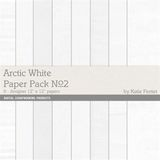 Arctic Whites Paper Pack No. 02