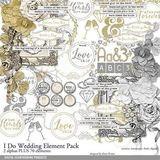 I Do Wedding Elements Pack