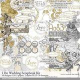 I Do Wedding Scrapbooking Kit