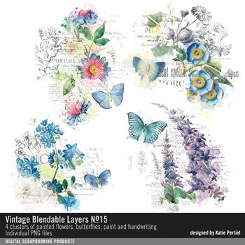 Vintage Blendable Layers No. 15
