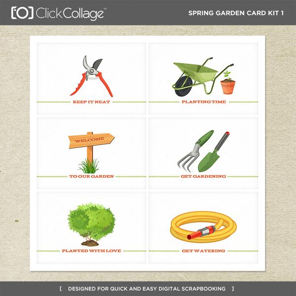 Spring Garden Card Kit 1