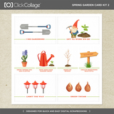Spring Garden Card Kit 2