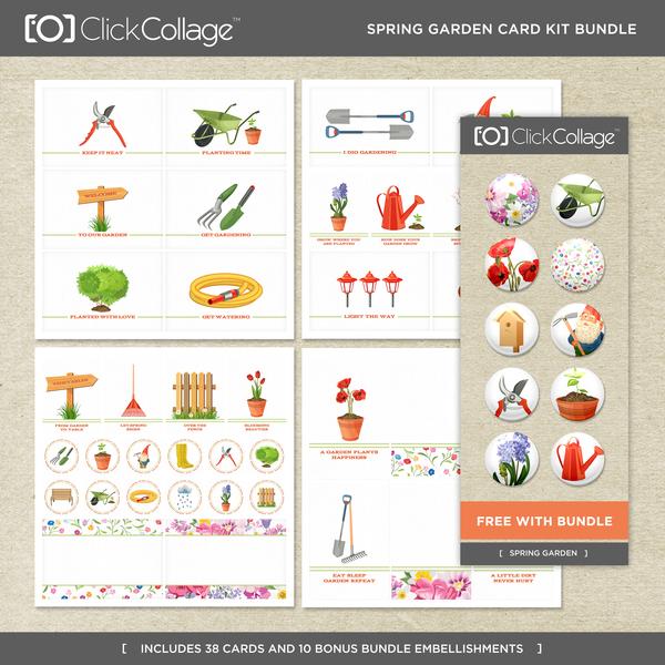 Spring Garden Card Kit Bundle
