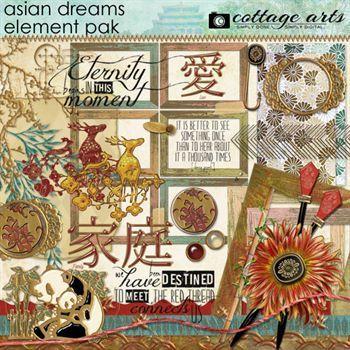 Asian Dreams Element Pak