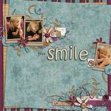 All It Takes Is A Smile Scrap Kit