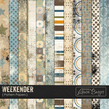 Weekender Pattern Papers