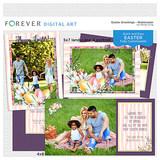 Easter Greetings - Watercolor Cards