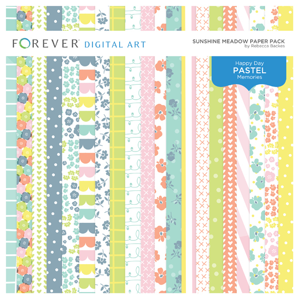 Sunshine Meadow Paper Pack