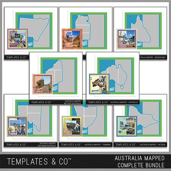 Australia Mapped - Complete Bundle