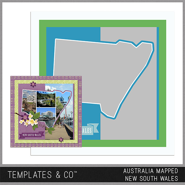 Australia Mapped - New South Wales