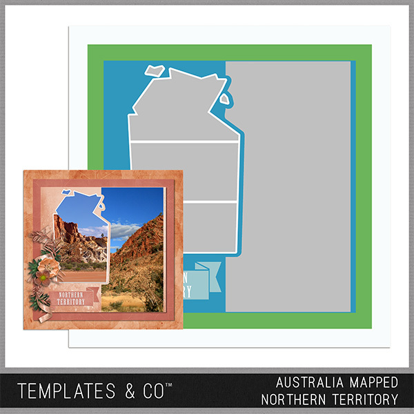 Australia Mapped - Northern Territory