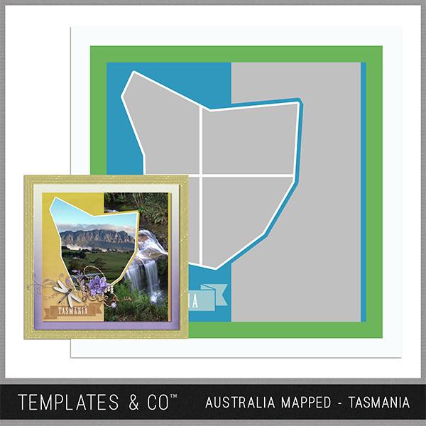 Australia Mapped - Tasmania