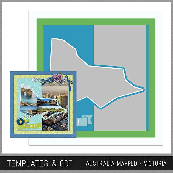 Australia Mapped - Victoria