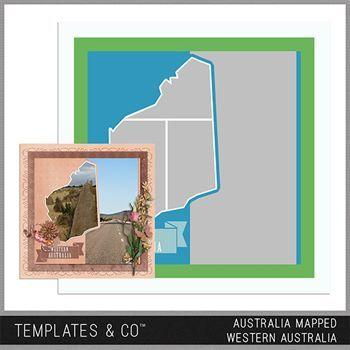 Australia Mapped - Western Australia