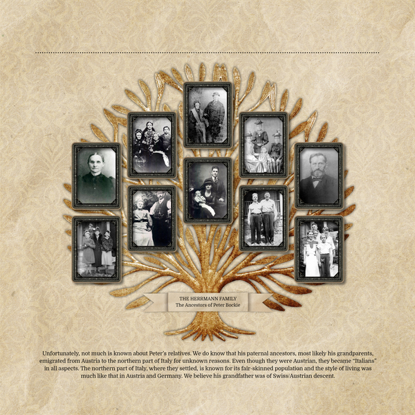 vintage memories 12 x 12 family history book add on pages digital art