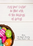Easter Greetings - Bright Cards